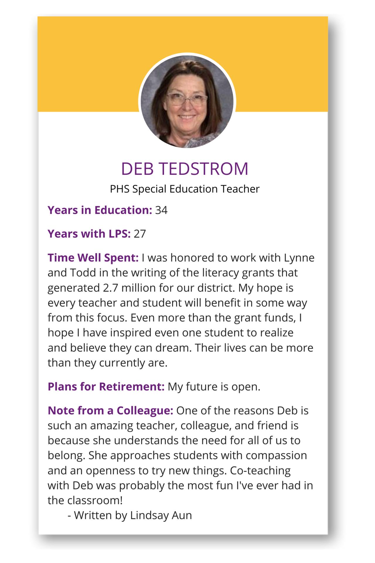 Deb Tedstrom Tile