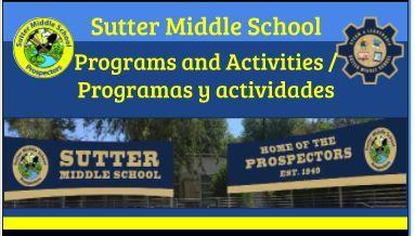 Enroll at Sutter MS today! / ¡Inscríbase en Sutter MS hoy! Featured Photo