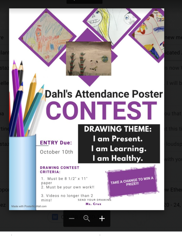 Poster Contest Due by October 10th. Thumbnail Image