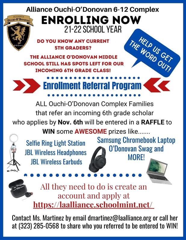 Learn about our Enrollment Referral Program! Thumbnail Image