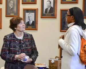 Dr Kappen with a representative