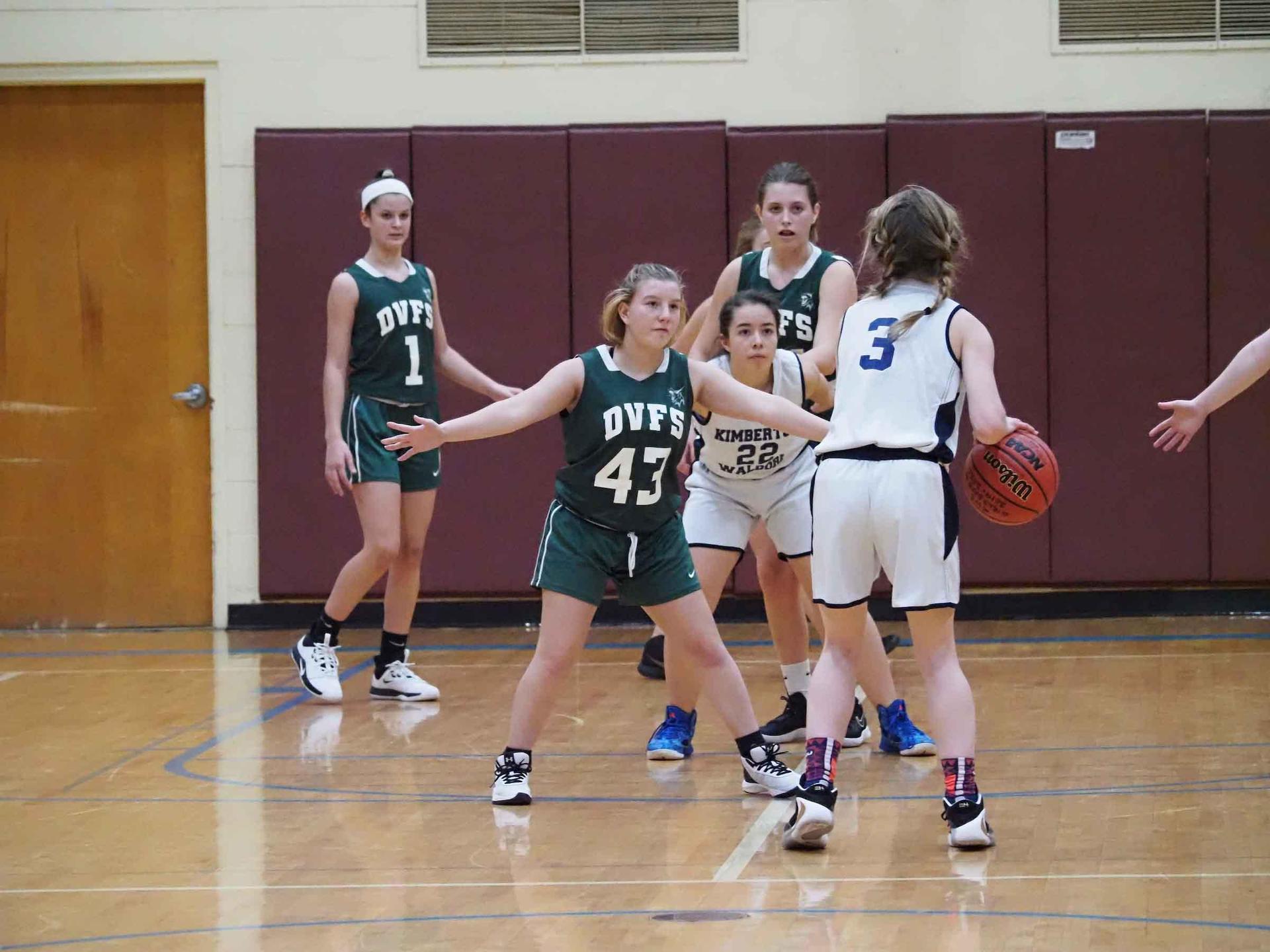 Girls JV-A Basketball