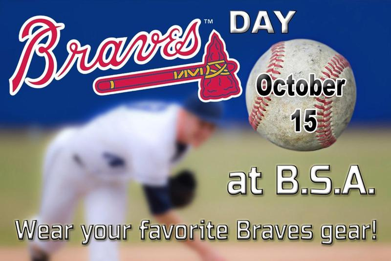 Braves Day October 15th