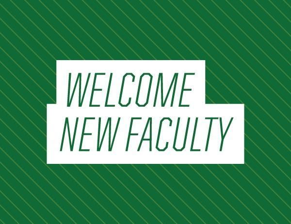 Greenfield Welcomes New Faculty Members Featured Photo