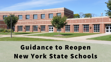 NYS DOH Guidance for Reopening