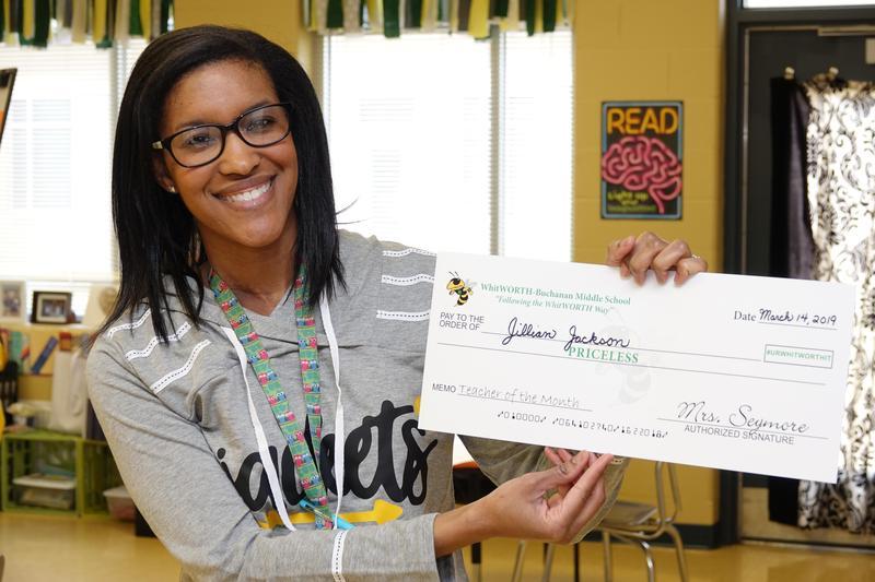 February Faculty Member of the Month: Mrs. Jillian Jackson Thumbnail Image