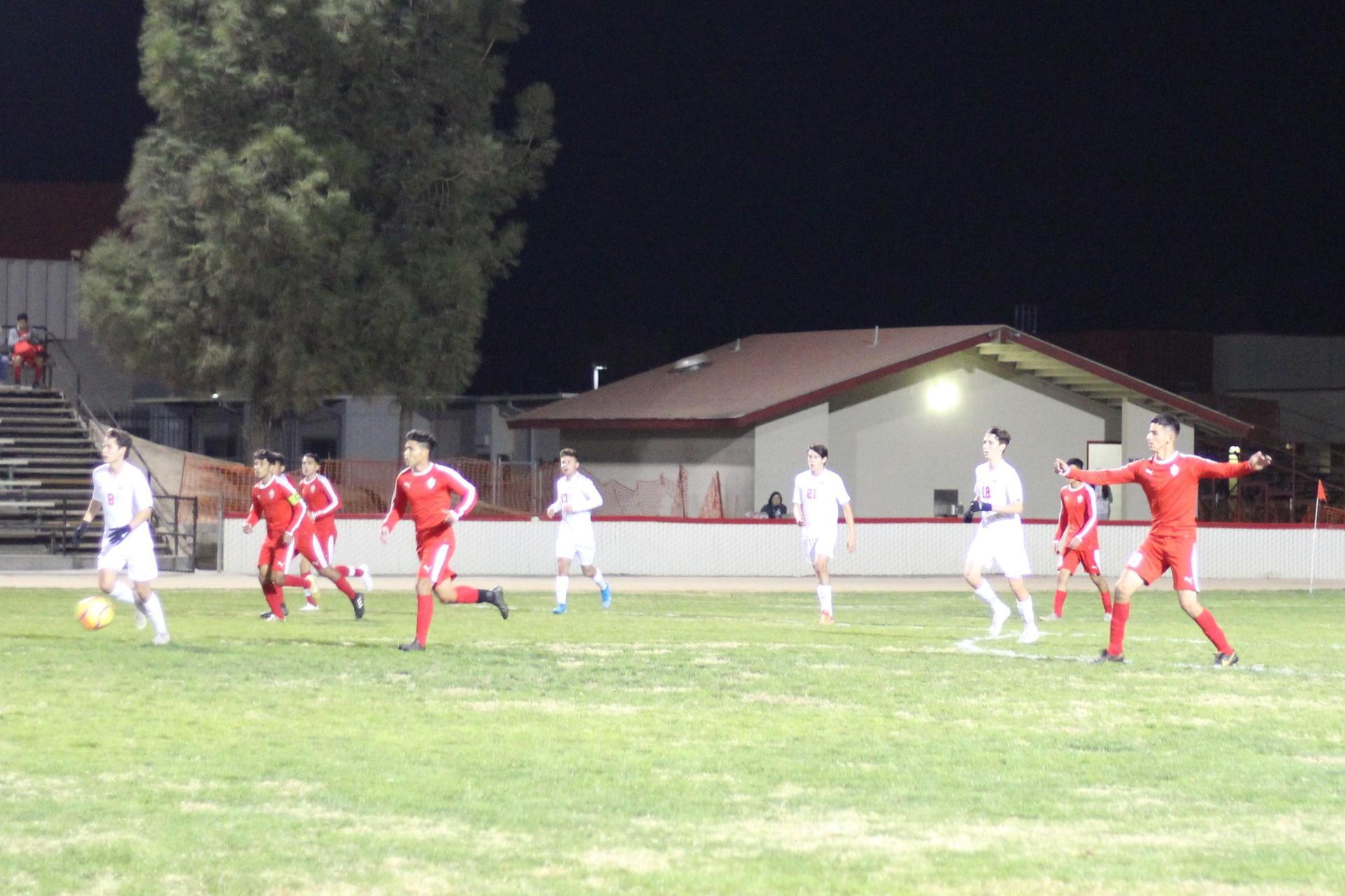 Christian Fernandez kicking