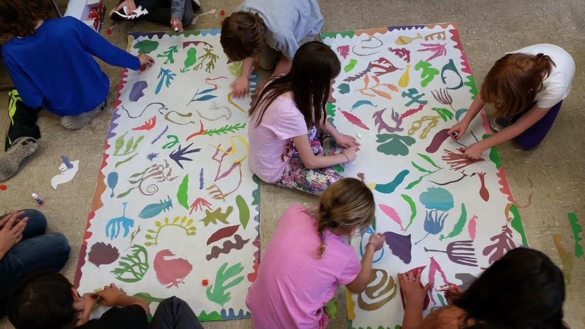 Matisse and MARE murals