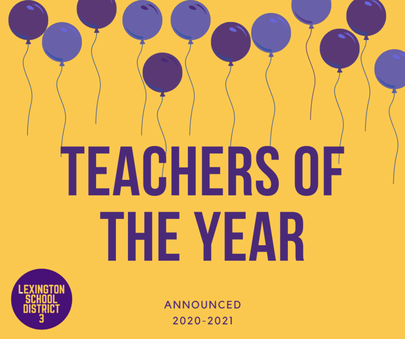 2020-2021 Teachers of the Year Announced