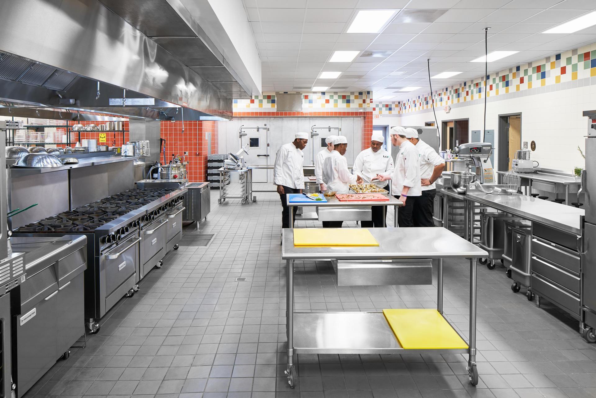 Lexington 2 Innovation Center Culinary Arts Kitchen