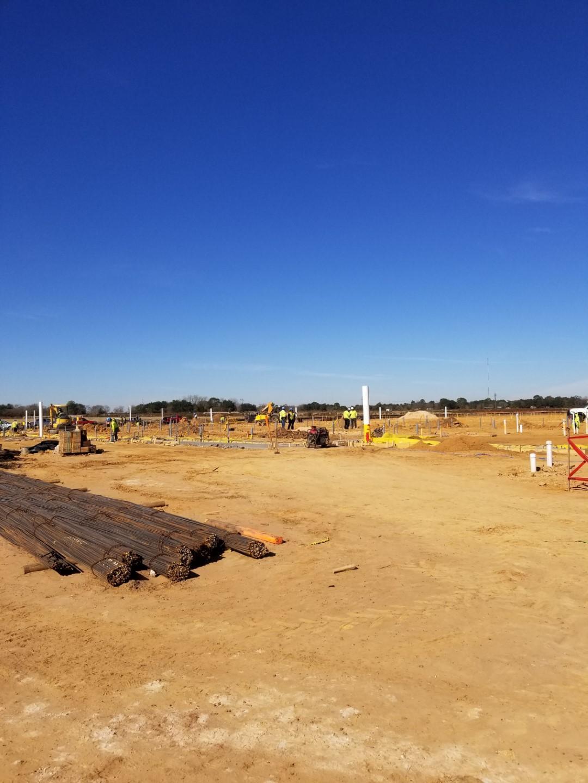 Foundation layout