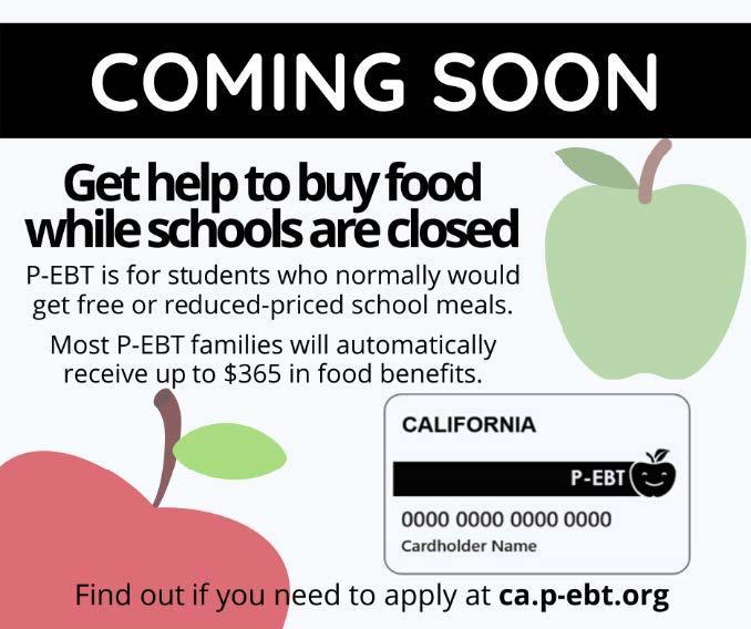Coming Soon! Get help to buy food while schools are closed! Featured Photo