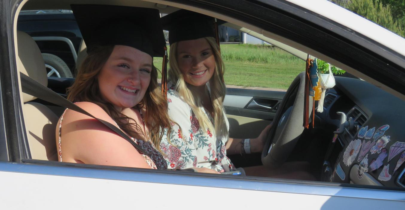 Seniors enjoy a parade through Middleville after COVID-19 canceled graduation ceremony plans.