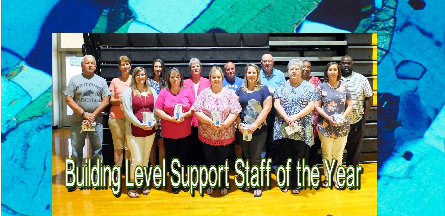 Building Level Support Staff of the Year