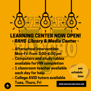 Learning Center Annoucement.png