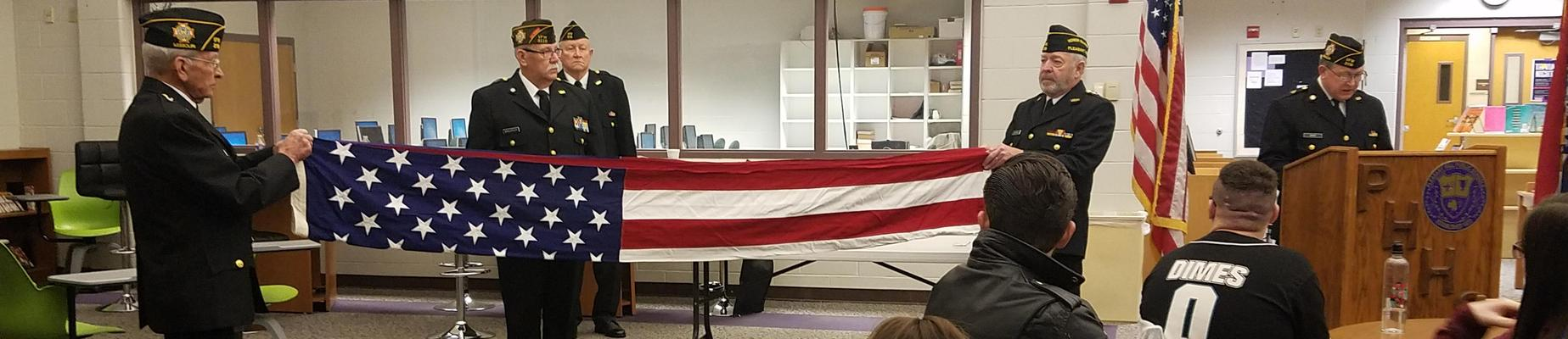 VFW Presentation to all American History classes
