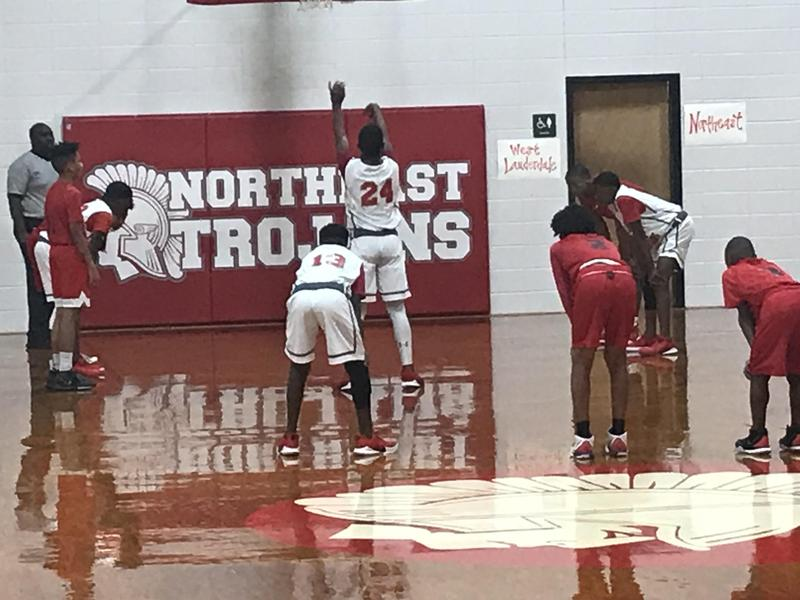 NEMS 7th Grade Boys Basketball Team