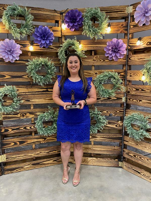 Ms. Vazquez, MISD Elementary Teacher of the Year