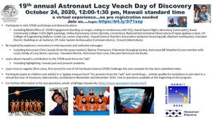 Flyer for Veach Day 2020