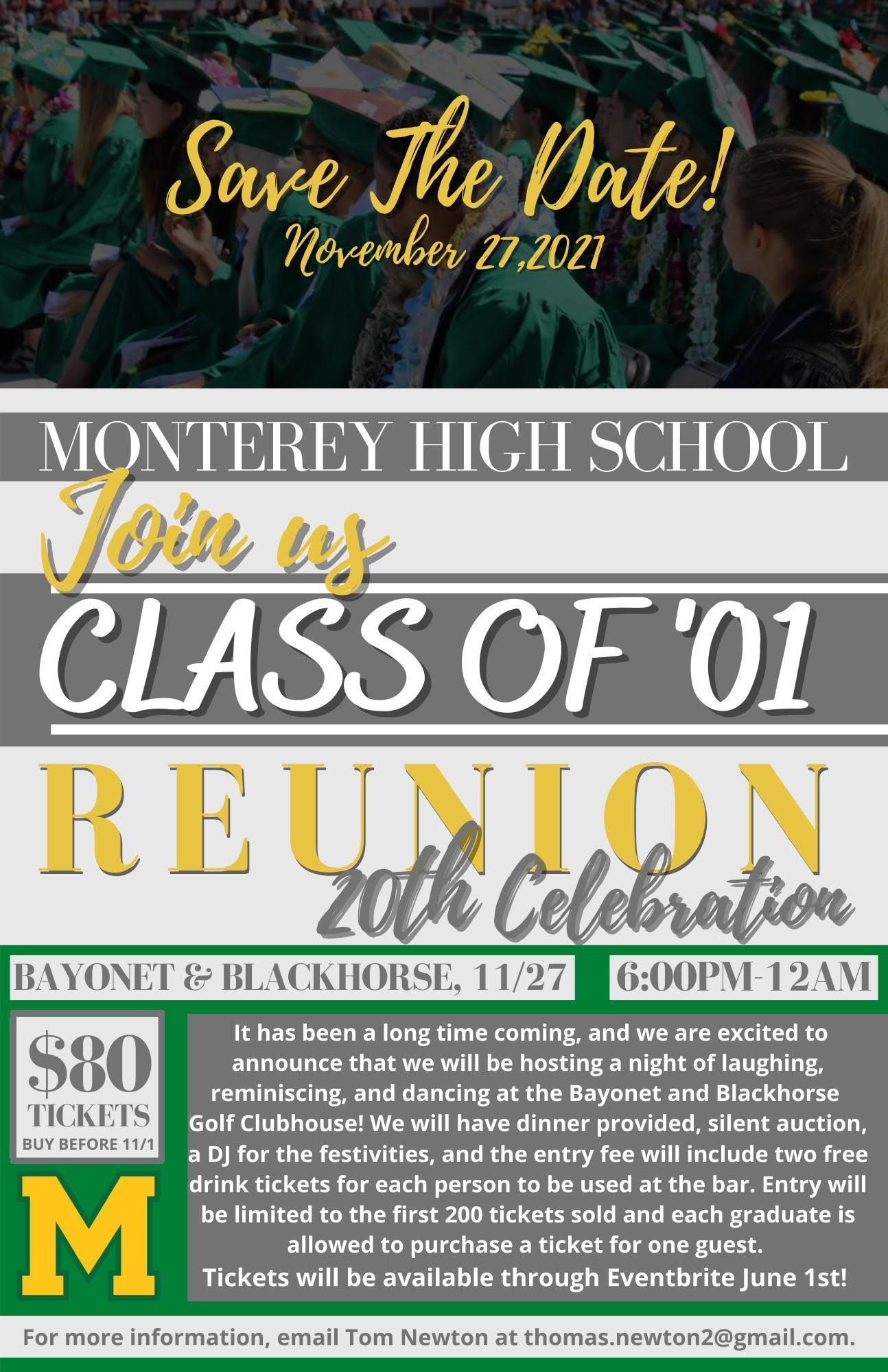 Class of 2021 Reunion