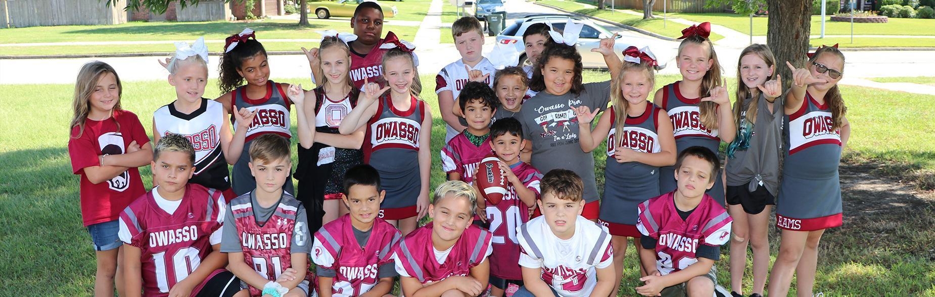 Mills Elementary Students