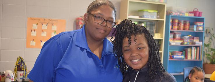 """Higgins Middle School hosts """"Growing Grammatically & Geometrically"""" for Grandparents Day!"""