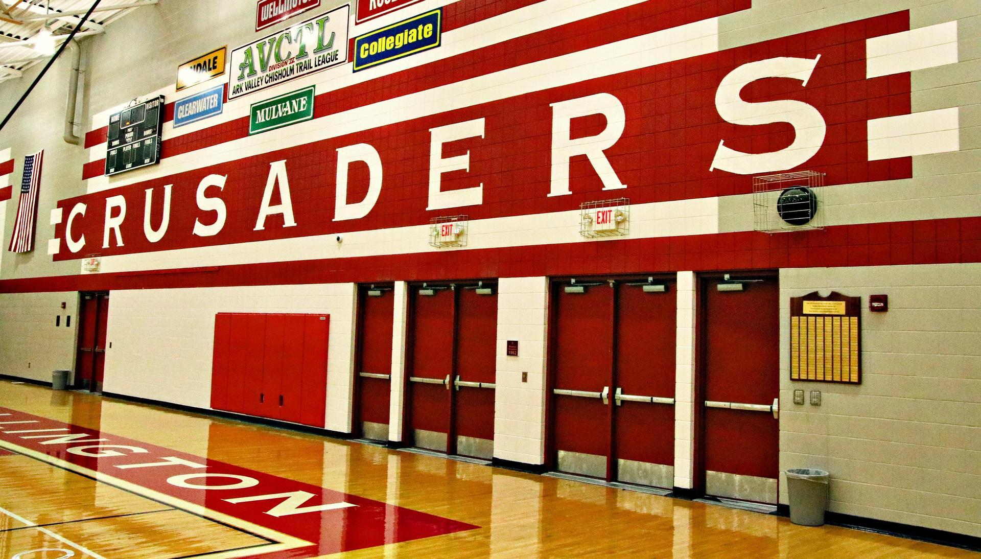 Crusader Main Gym @ Wellington High School