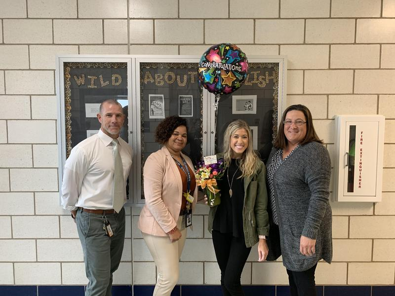 Ms. Dragobratovich name SPHS 2019-20 Teacher of the Year Thumbnail Image