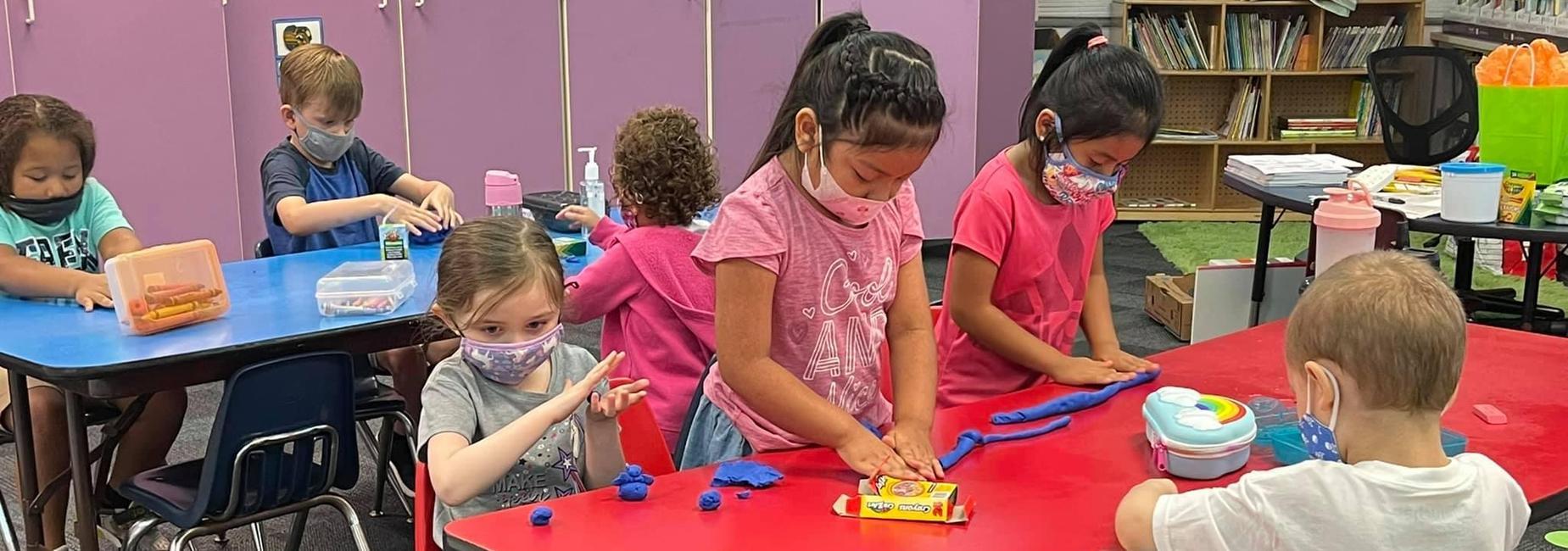 Vaile kindergarten students
