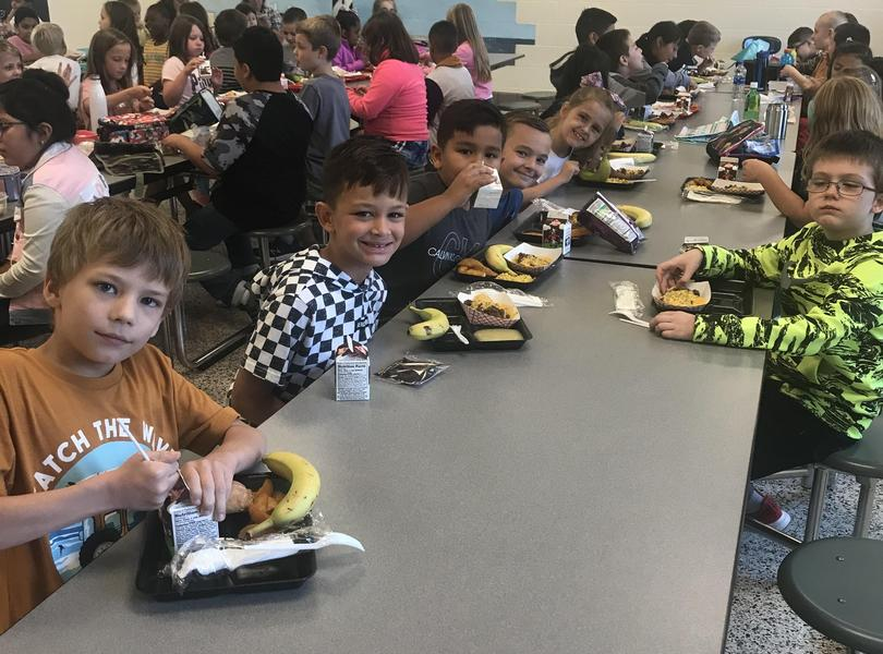 First day of school - cafeteria