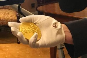 Gleason's Congressional Gold Medal.