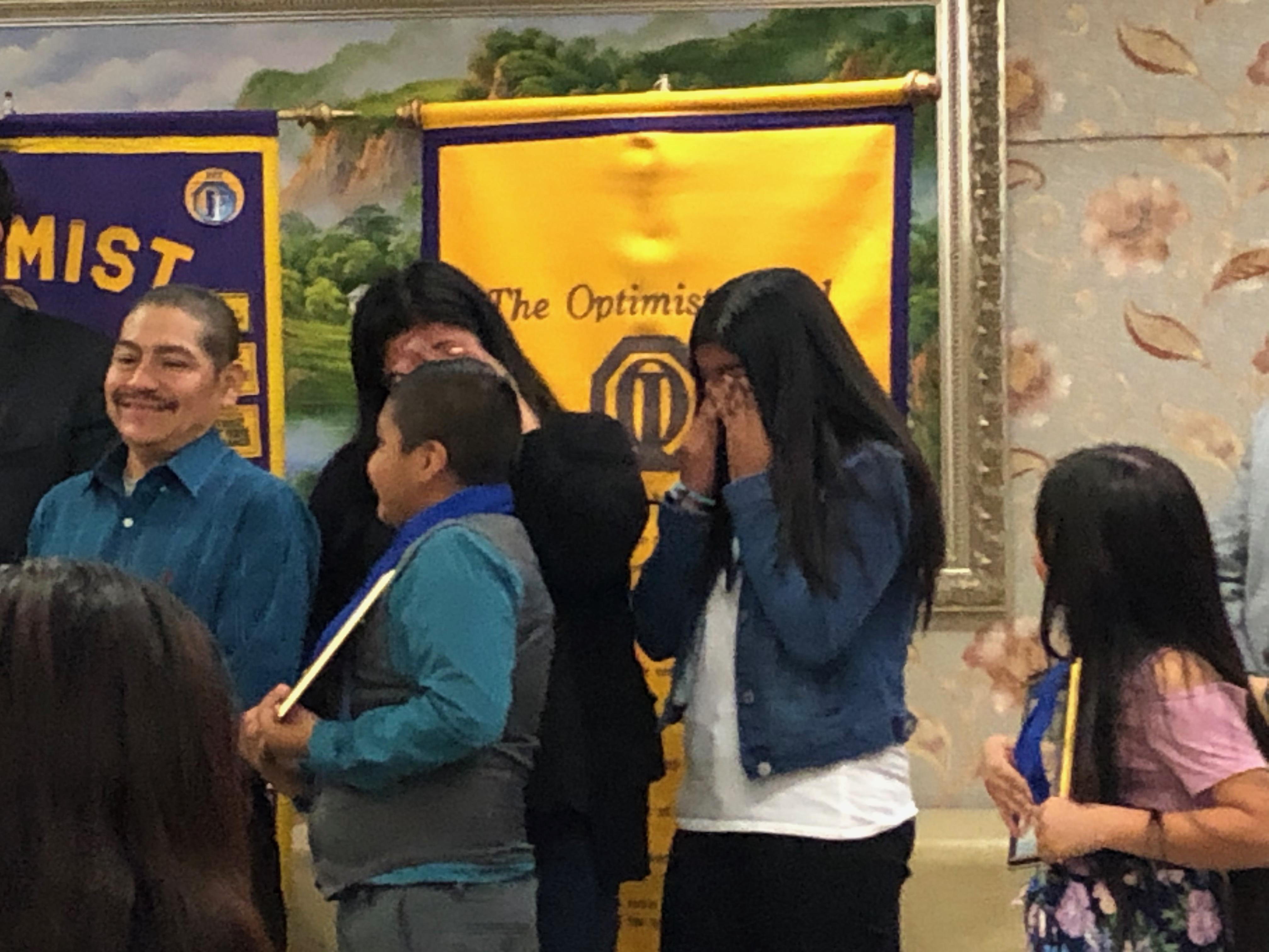 Congratulations to Shirley Segura, Lauro Hernandez, Ximena Zuniga, and Breanna Hernandez. Our scholars received recognition from the Optimist Club, City of Pomona Council Woman Elizabeth Ontiveros-Cole, State Assembly Man Freddie Rodriguez, State Senator Connie Leyva, and U.S. Congresswoman Norma Torres.