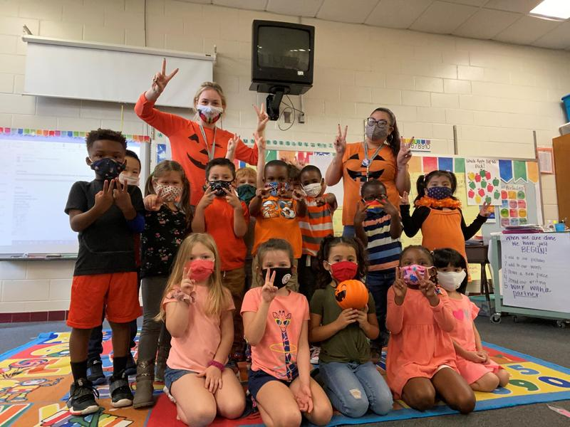 Glynn County Schools' students and staff wore orange Wednesday in recognition of Unity Day, which aimed to promote the importance of inclusion.