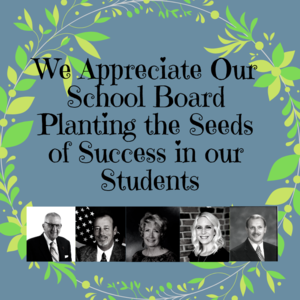 Thank you to our exceptional ACS School Board for your support of our schools and community.