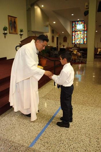 First Communion Pic