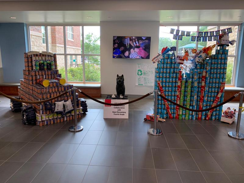Canstruction Design by 4th graders Featured Photo