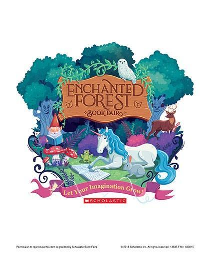 Enchanted Forest Book Fair Poster