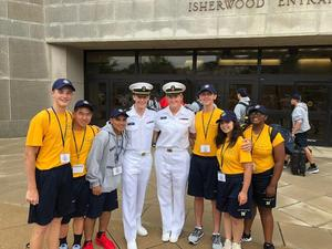William Guzman and US Naval Academy
