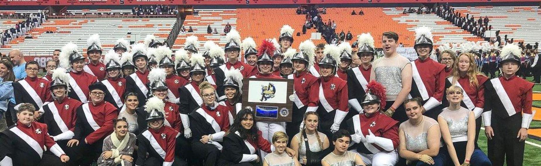 Marching Band takes 1st place