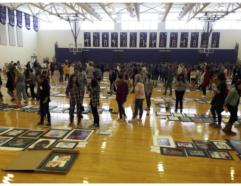 Visual Arts Students Headed to State in April Thumbnail Image