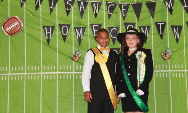 Plaisance Middle School 5th Grade Prince & Princess Jaylon Oakley & Chloe Childers !