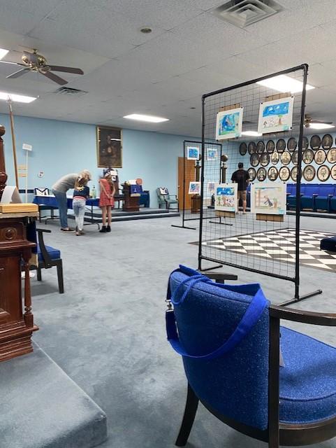 Mineral Wells Masonic Lodge Art Auction