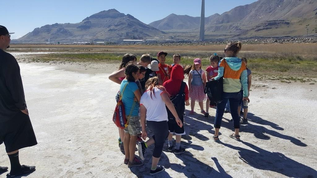 2017 4th grade Field Trip - Great Salt Lake