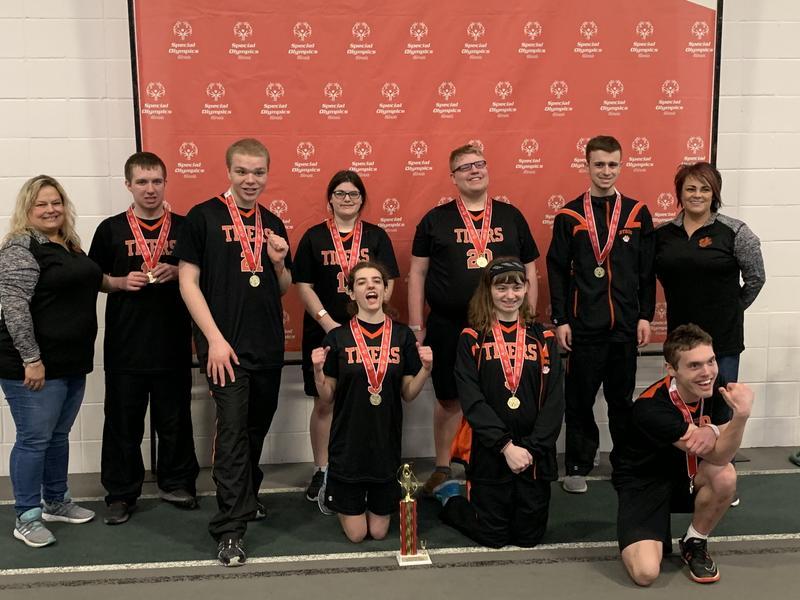 Special Olympics Basketball Team