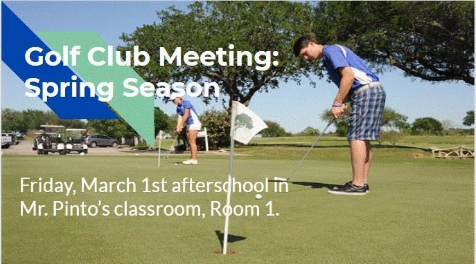 Golf Club Spring Season Meeting Thumbnail Image