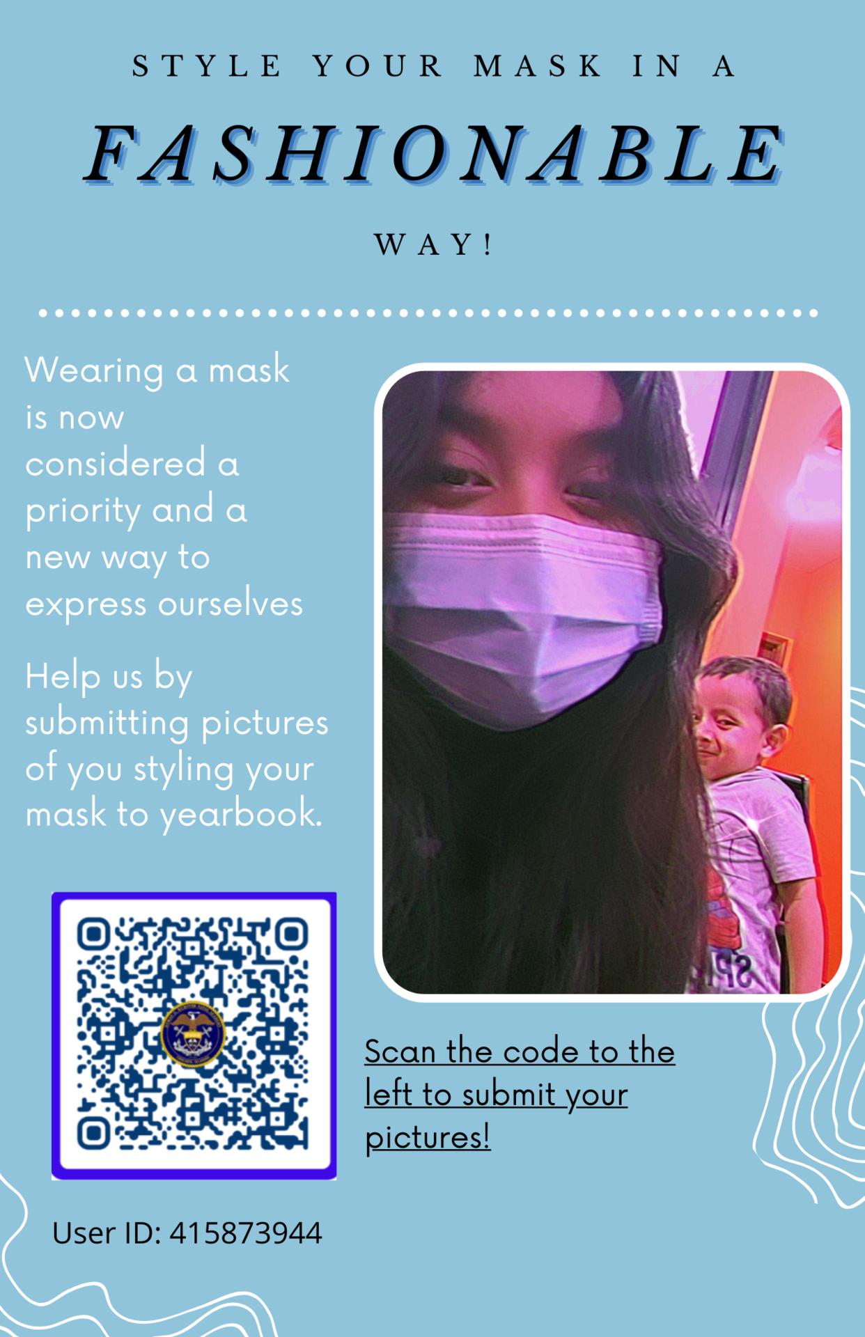 Fashion Mask Photo Submission