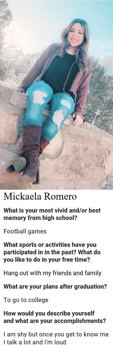 Mickaela Romero