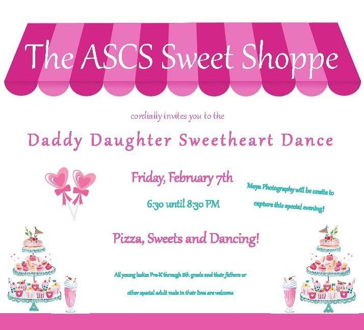 Daddy Daughter Dance Invite