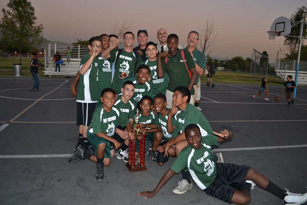Basketball champions picture