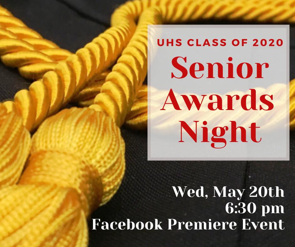 senior awards video